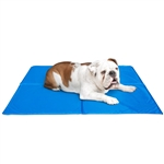 "ALEKO® LCB-S Pet Cooling Mat Cool Bed 40 x 30cm (15.5 x 12"") Blue Pet Cooling Mat"