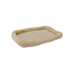 ALEKO® PCM05L Large Soft Plush Beige  Pet Bed Mat