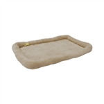 ALEKO® PCM06XL X-Large Soft Plush Beige  Pet Bed Mat