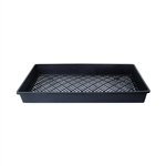 ALEKO  PP540BK Large Plastic Drainage Holes Seedling Growing Plant Tray, Black