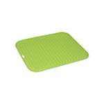 ALEKO SPH12X9GR Silicone Non Stick Heat Resistant Baking Mat 12 X 9 Inch (30.5 X 22.9 cm) Multipurpose Baking Sheet, Green