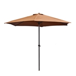ALEKO 9 Ft Outdoor Umbrella, Tan Color