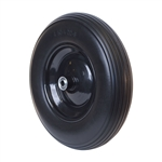 ALEKO WBNF16 Flat Free Replacement Wheel for Wheelbarrow 16 Inch (40.6 cm) No Flat Tire, Black