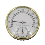 Stainless Steel Thermo-Hygrometer - Temperature Range - 50 to 250F - ALEKO