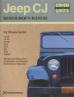 Jeep CJ Rebuilder's Manual 1946-1971 by Moses Ludel