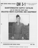 Quartermaster Supply Catalog:  Enlisted Men's Clothing & Equipment (1946)