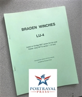 Braden Winches Models LU-4 for M37 (G741) & M715