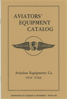 Aviation Equipment Catalog by A.G. Spaulding & Bros. circa 1930.
