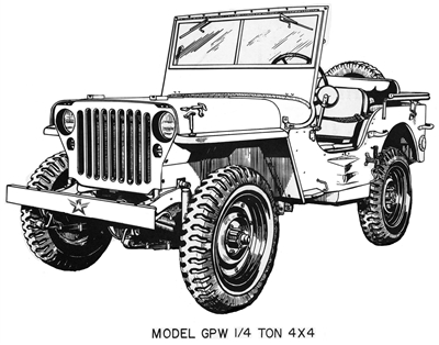 Bundle - WW2 G503 Jeep