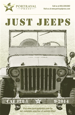 Just Jeeps Catalog (FREE PDF DOWNLOAD - SEE BELOW)
