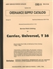 ORD 9 G166, Universal Carrier Parts Manual