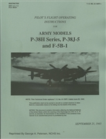 T.O. No. 01-75FF Flight Operating Instructions for the Lockheed P-38 Lightning of WW2