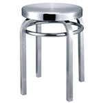 Fine Mod Imports Navy Stool Chair