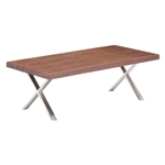 Zuo Modern Renmen Coffee Table Walnut