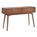 Zuo Modern Design District Console Table Walnut