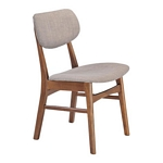 Zuo Modern Midtown Dining Chair Dove Gray