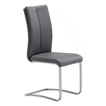Zuo Modern Rosemont Dining Chair Gray