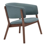 Zuo Modern Chapel Lounge Chair Blue