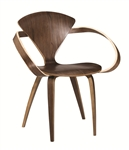 Fine Mod Imports Normen Chair Modern Wooden Arm Chair