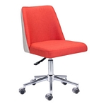 Zuo Modern Season Office Chair Orange/Beige
