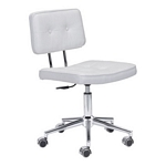 Zuo Modern Series Office Chair White