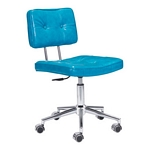 Zuo Modern Series Office Chair Blue