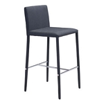 Zuo Modern Confidence Counter Chair Black