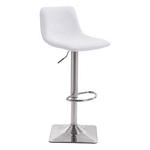 Zuo Modern Cougar Bar Chair White