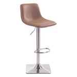 Zuo Modern Cougar Bar Chair Taupe