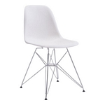 Zuo Modern Zip Dining Chair White