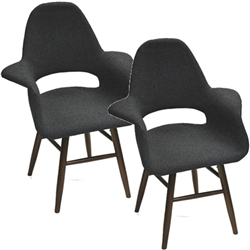 Fine Mod Imports Eero Dining Chair Set of 2