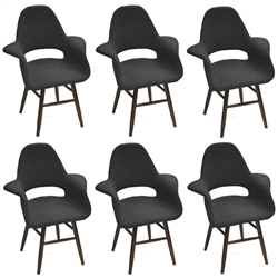 Fine Mod Imports Eero Dining Chair Set of 6