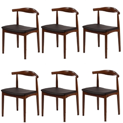 Fine Mod Imports Hansen Dining Chair Set of 6