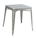 Fine Mod Imports Tolix Galvanized Steel Dining Table