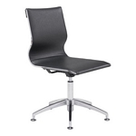 Zuo Modern Glider Conference Chair Black