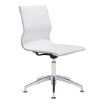 Zuo Modern Glider Conference Chair White