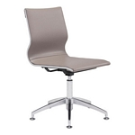 Zuo Modern Glider Conference Chair Taupe