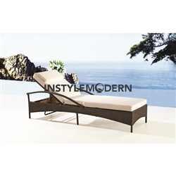 Fine Mod Imports Sun Outdoor Chaise Lounge