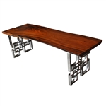 Fine Mod Imports Cubic Cherry Dining Table