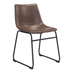 Zuo Modern Smart Dining Chair Vintage Espresso