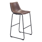 Zuo Modern Smart Bar Chair Vintage Espresso