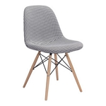 Zuo Modern Sappy Dining Chair Houndstooth