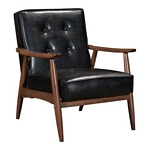 Zuo Modern Rocky Arm Chair Black
