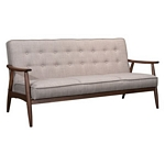 Zuo Modern Rocky Sofa Putty