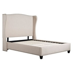 Zuo Modern Enlightenment Queen Bed Beige
