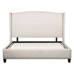 Zuo Modern Enlightenment King Bed Beige
