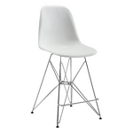 Zuo Modern Zip Counter Chair White
