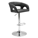 Zuo Modern Hark Bar Chair Black