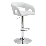 Zuo Modern Hark Bar Chair White