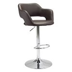 Zuo Modern Hysteria Bar Chair Espresso